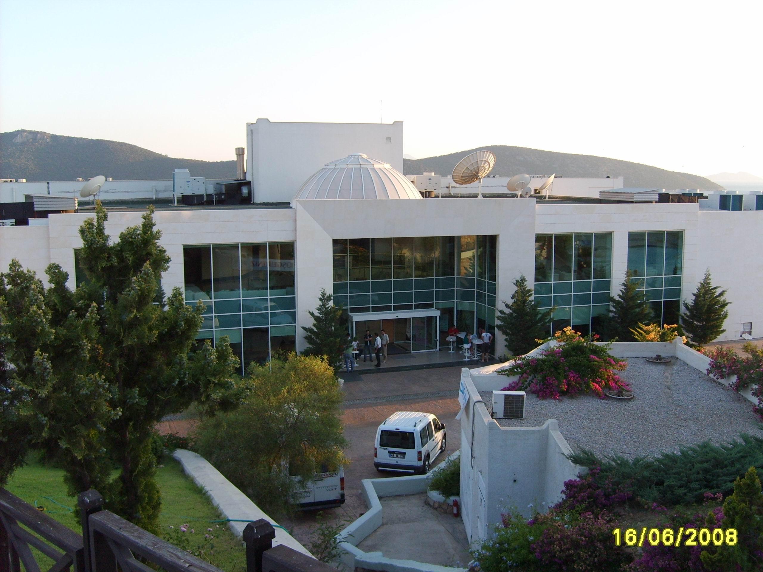 Majesty Club Hotel Belizia 5* - центральный вход