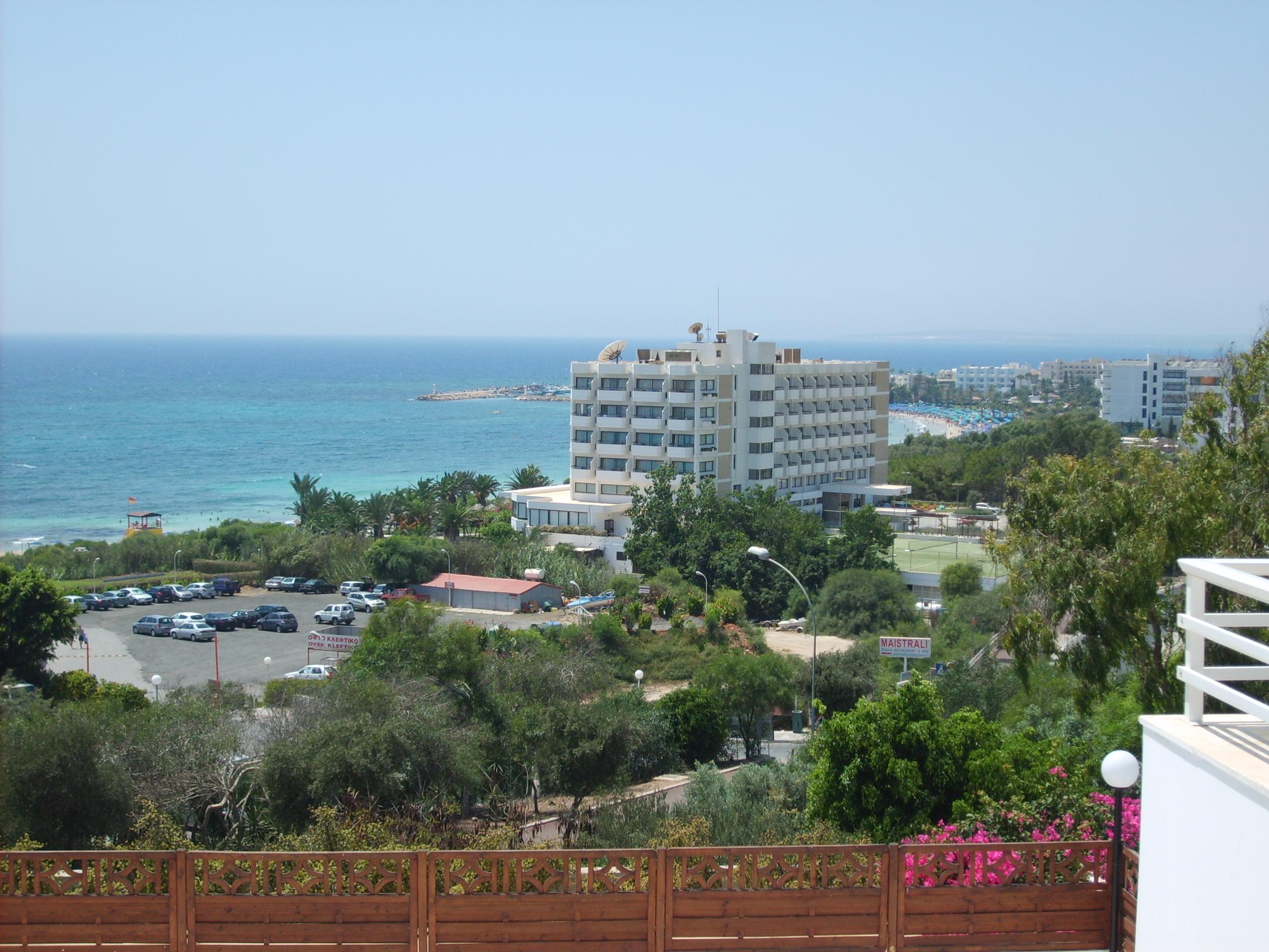 Bella Napa (Кипр) - вид на море