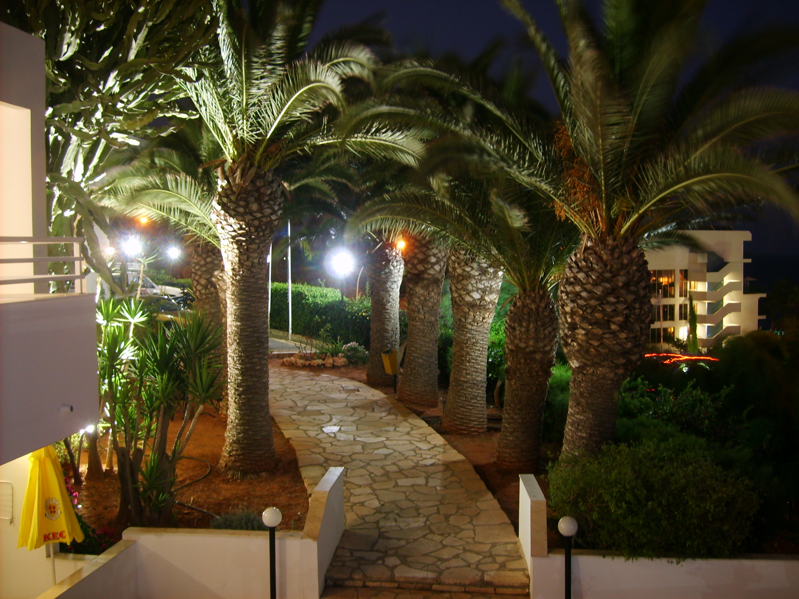 Территория отеля Bella Napa (Ceprus) - Кипр