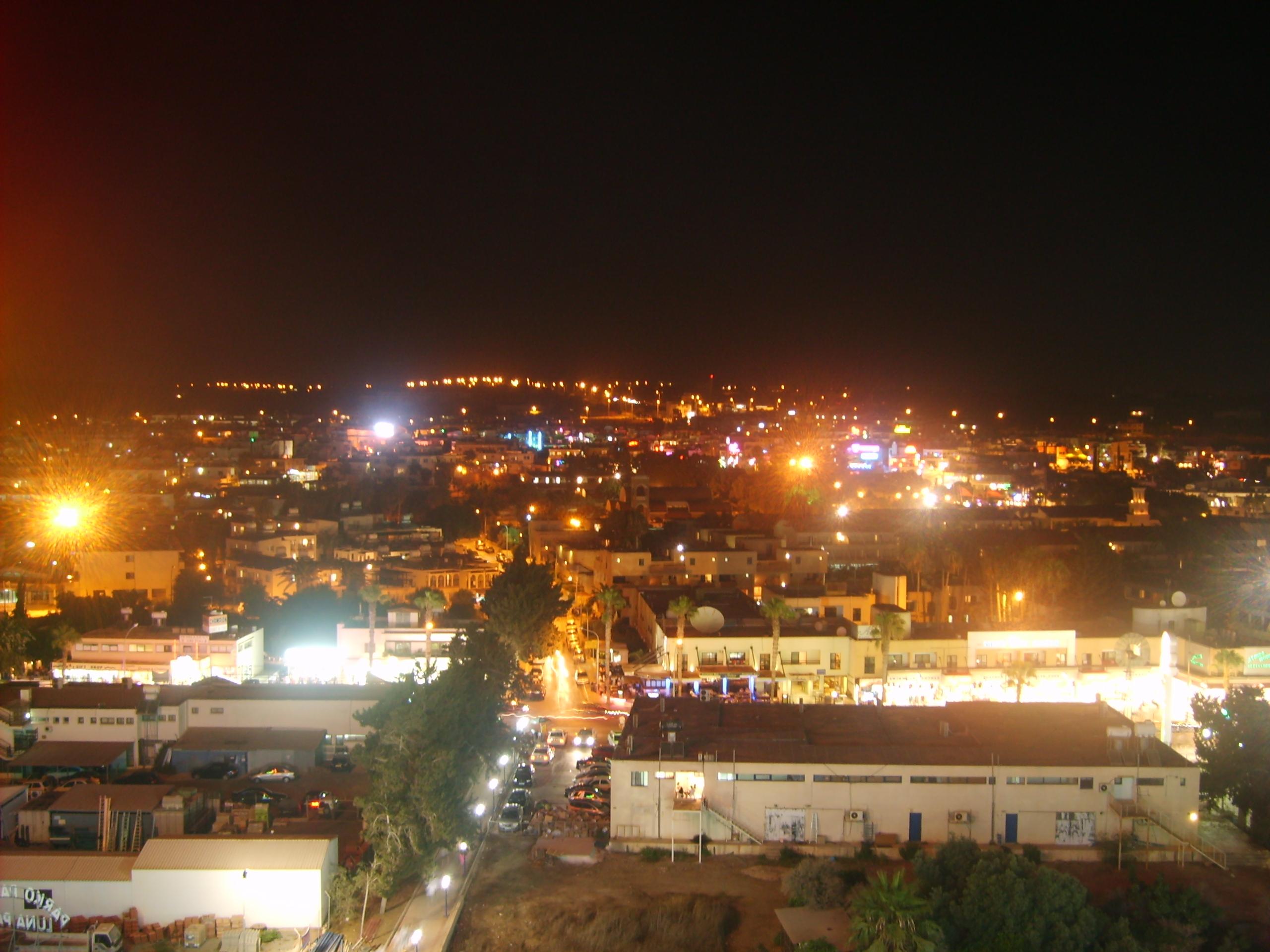 Ночная Айя-Напа, Кипр