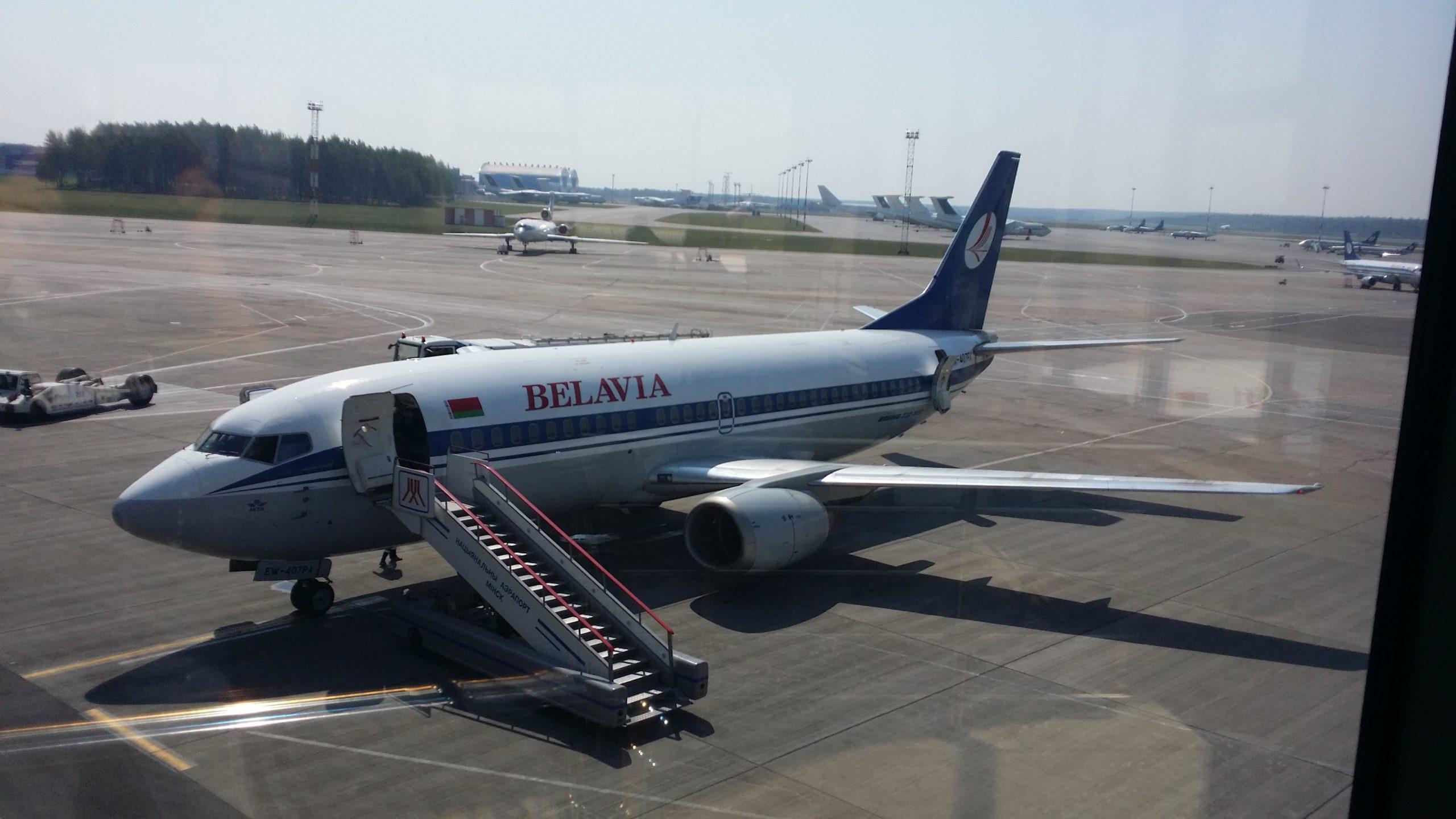Боинг 737-300 Belavia