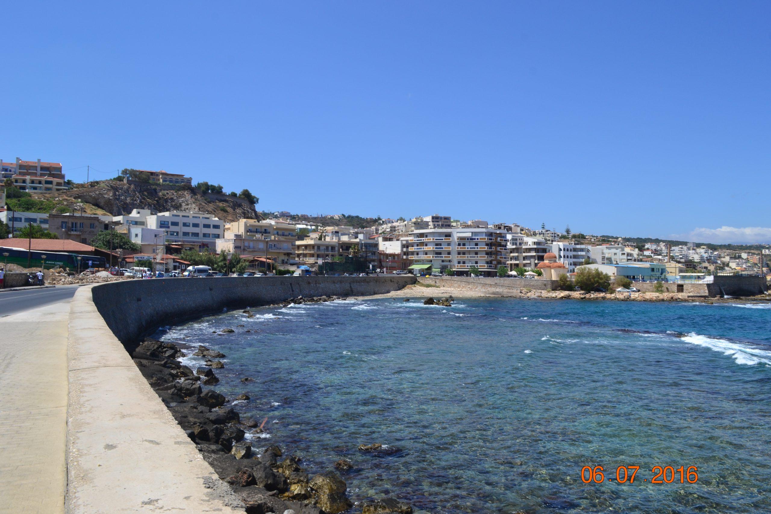 Набережная Ретимно Крит