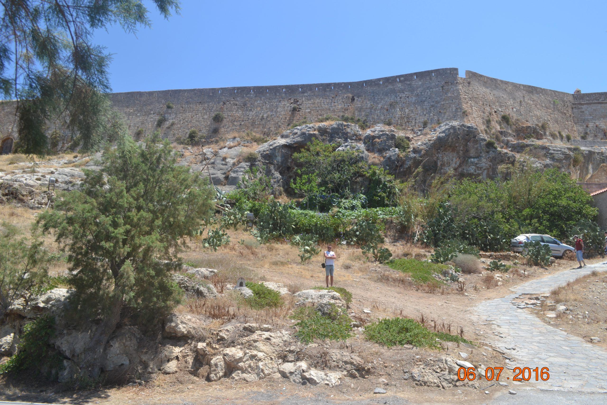 Амбразуры крепости Fortezza