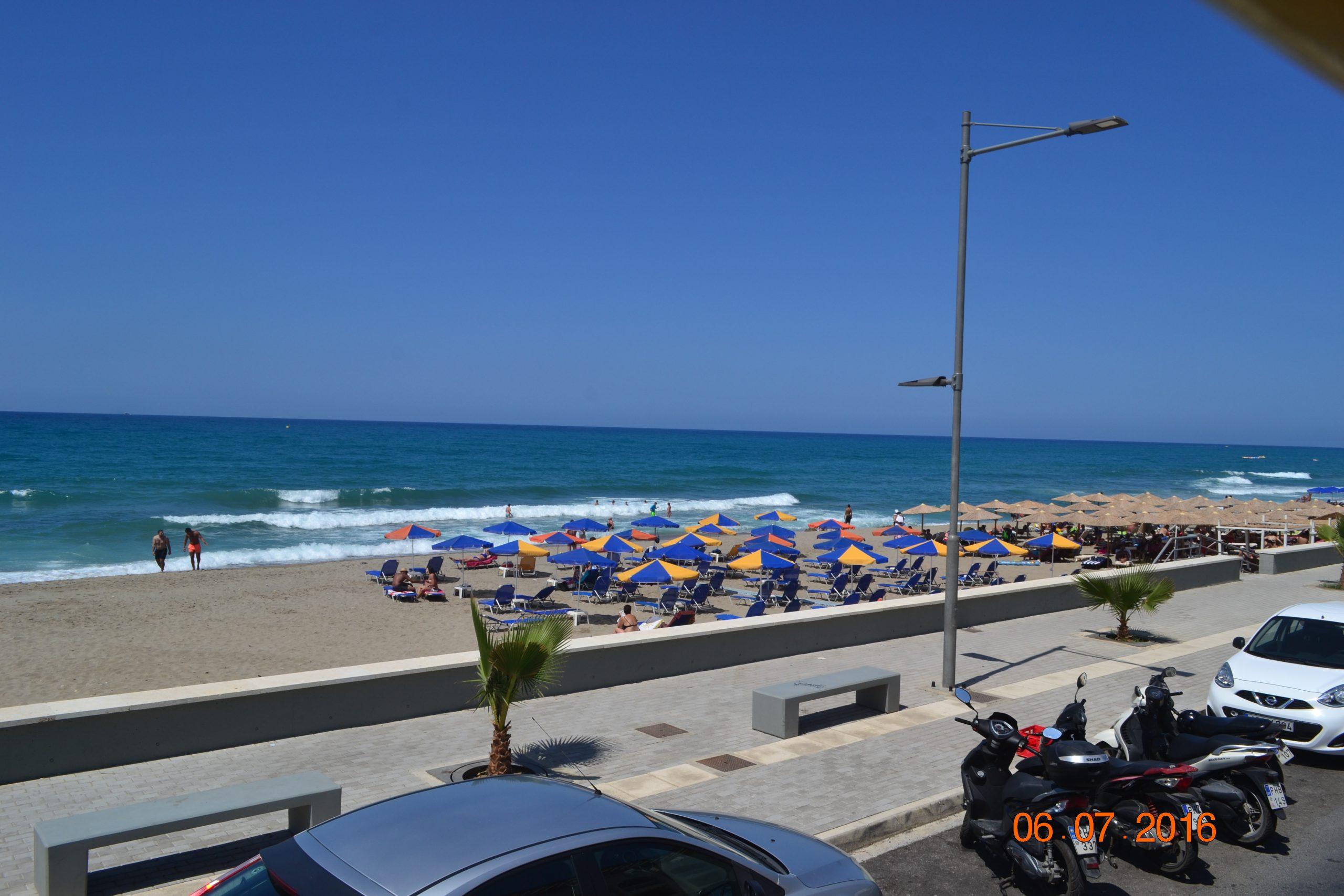 Один из пляжей в Ретимно