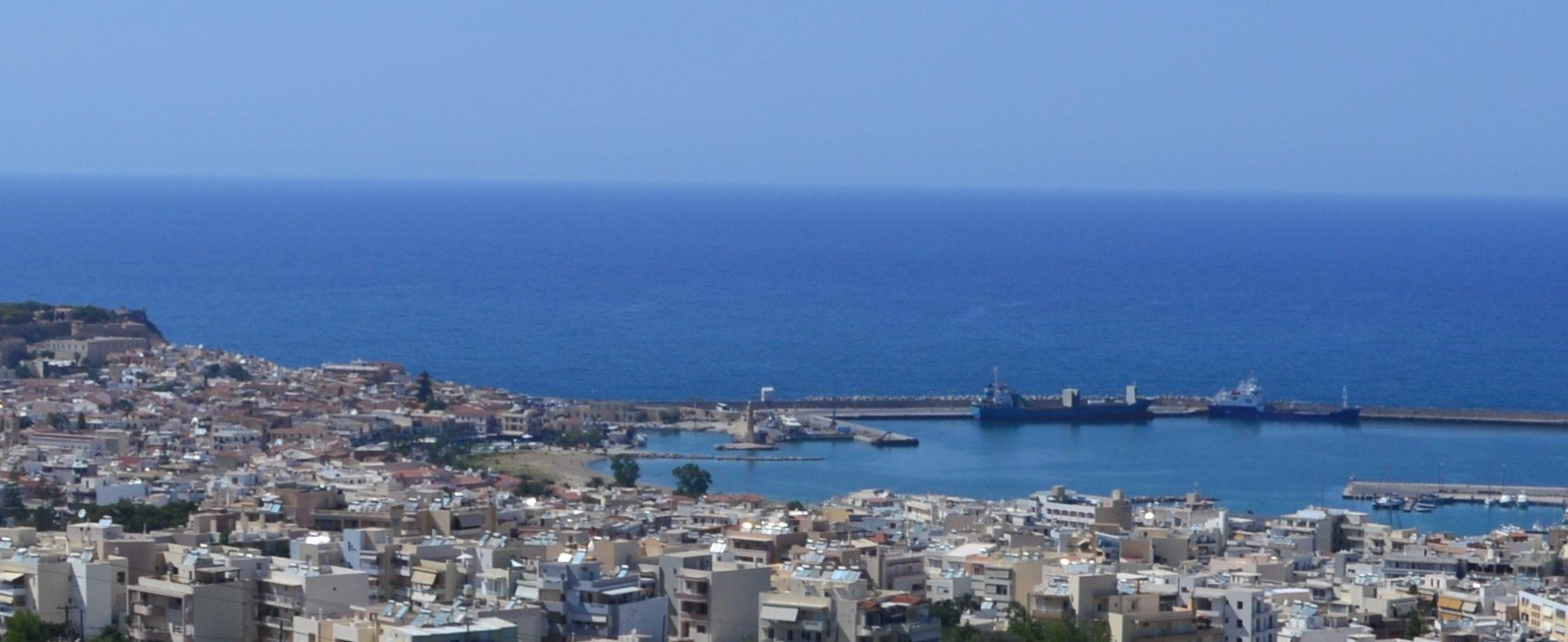 Остров Крит в Греции - Эгейское побережье