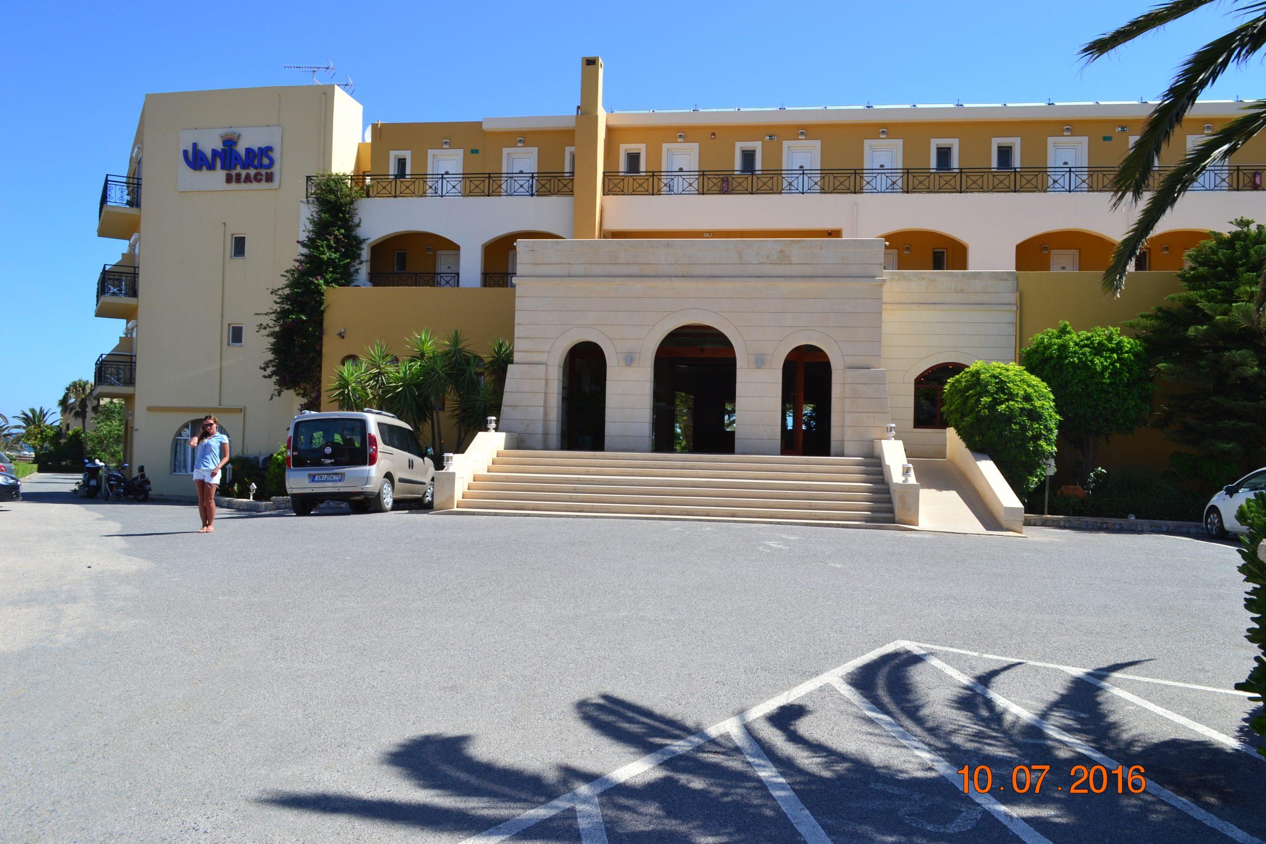 Отель Vantaris Beach 4* (Крит, Греция)