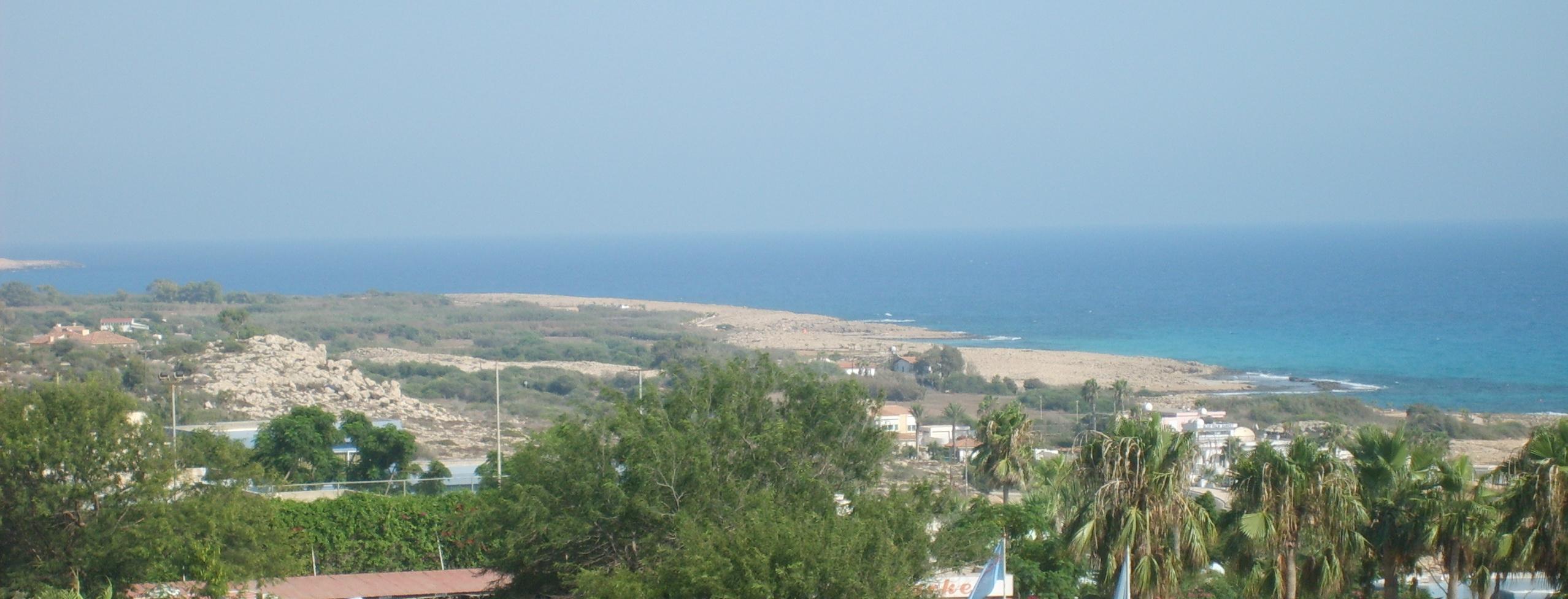 Остров Кипр - Айя Напа - Средиземное море