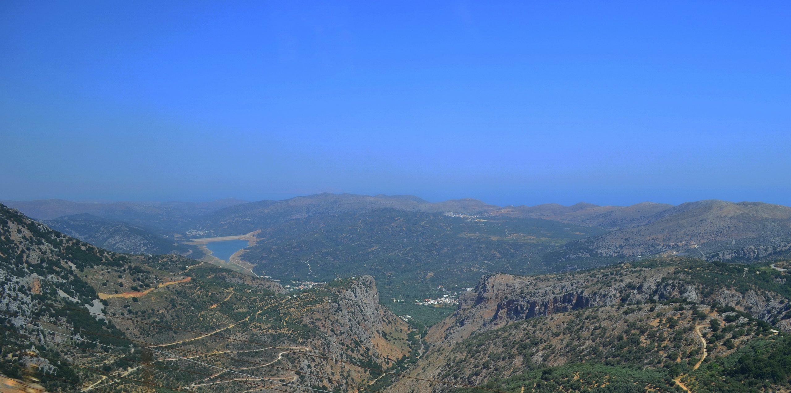 Перевал Сели на Крите (плато Лассити)